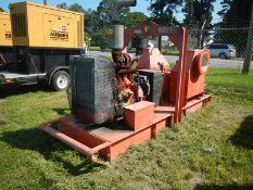 """GODWIN 12"""" diesel powered water pump JD diesel"""