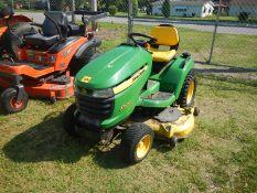 """DEERE X530 54"""" multi-terrain mower 161 hrs power steering"""