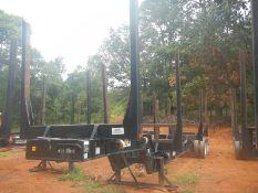 2015 McLendon log trailer model LP42-4Lvin# 1M9LP4228FA776214