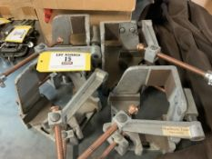 Corner right angle Welding clamps 3-direction hold