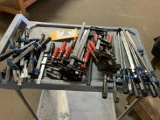 Adjustable bar clamps