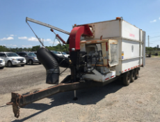 1999 GiantVac 6600DTR2 TA Leaf Vacuum Sucker Dump Trailer Unit