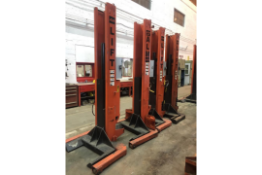 Set of 4 ALM 18,000lb Truck Lifts (14)