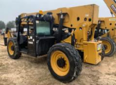 2013 CATERPILLAR TL1055C 10,000 lb Telescopic Forklift