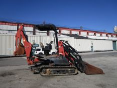 2011 Ditch Witch XT1600 Trencher Backhoe w/ Trailer