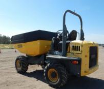 2015 Wacker DW60 4x4 Swivel Dumper