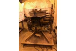 Pandjiris 1000 lbs Welding Positionier Welder Rotary Turn Table Machine
