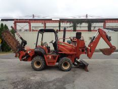 2008 Ditch Witch RT75 Trencher Backhoe