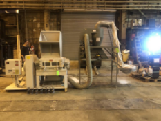 SEM 50HP Paper Shredder with Dust Collector