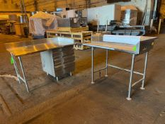 A. Lot of Two Stainless Steel Counter Tops- Located in Lester, PA
