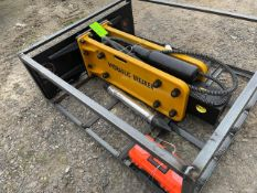 New Wolverine Skid Steer Hyd Hammer Attachment (f)- Located in Lester, PA