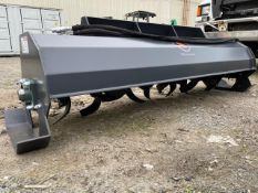 New Wolverine Skid Steer Auger Rotary Tiller (a)- Located in Lester, PA