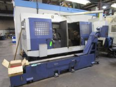 JRB #53 Hwacheon ECO-2SP3 Automatic Twin Spindle CNC Lathe- Located in Chalfont, PA