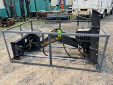New Skid Steer Articulating Brush Cutter (i1)