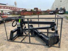 New Skid Steer 96 in Grader Attachment (j1)