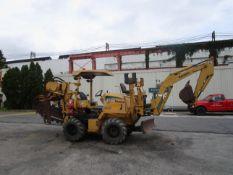 Vermeer RT650 Trencher Cable Plow Backhoe Dozer