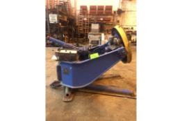 P & H 4,600 lbs Welding Positioner