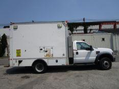 2008 Ford F550 Van Body Truck