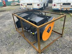 Wolverine Skid Steer Cement Mixing Attachment (r1)