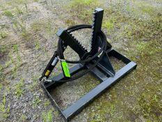 New Skid Steer Tree Shear Attachment (m1)