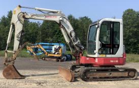 2012 Takeuchi TB153FR Track Excavator