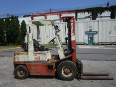 Nissan PH02A25V 5,000 lb Forklift