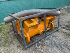 New Skid Steer Cement Mixer (d4)