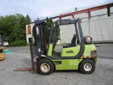 Clark CMP25 6,000 lb Forklift