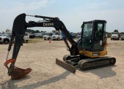 2016 John Deere 50G Mini Hydraulic Excavator
