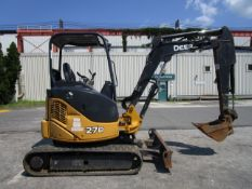 2015 John Deere 27D Excavator