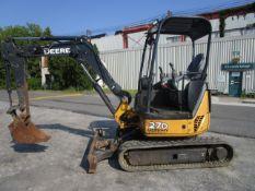2016 John Deere 27D Mini Excavator