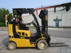 2015 Yale GLC080VX 8,000 lb Forklift