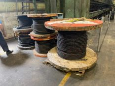 Rolls of Steel Cable New Never Used