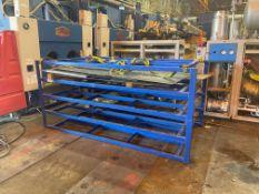 Blue Steel Rack