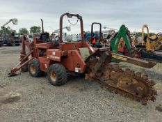 2000 Ditch Witch 5110 Rubber Tired Trencher