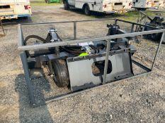New Skid Steer Power Rake (f1)