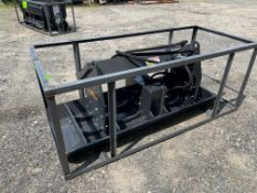 New Skid Steer Vibratory Plate Compactor (b2)