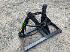 New Skid Steer Tree Shear Attachment (l1)