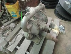 Pneumatic Pump -Located in Cinnaminson, NJ