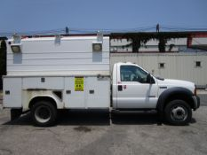 2007 Ford F450 Enclosed Hi-Top Service Box Van Diesel Truck -Located in Lester, PA