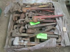 Lot of Pipe Wrenches -Located in Cinnaminson, NJ