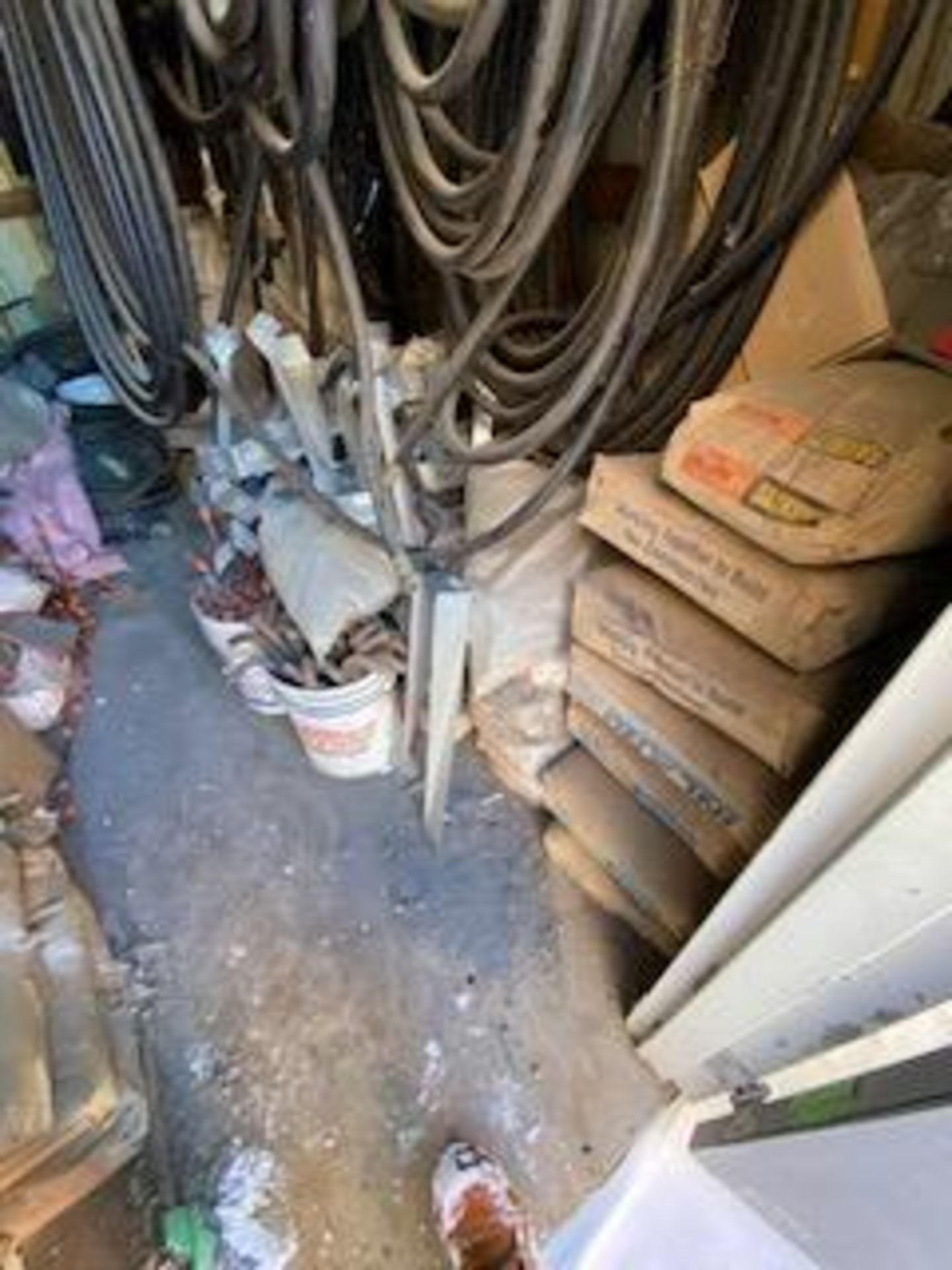 LARGE LOT OF CONCRETE ACCESSORIES - BALANCE OF SHED - Image 2 of 4