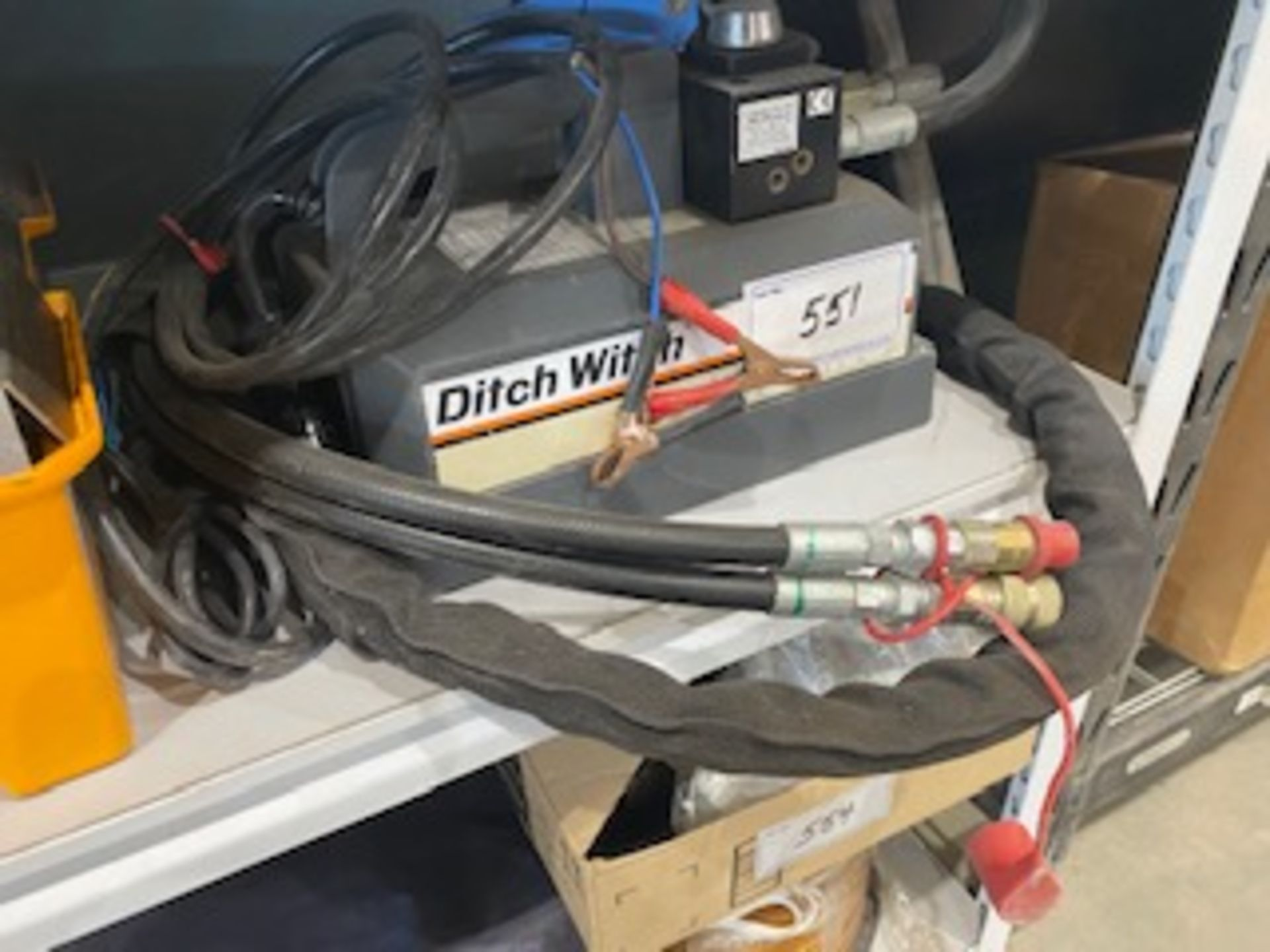 DITCH WITCH REMOTE 12V HYDRAULIC POWER SOURCE