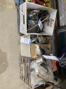 LOT OF PANEL HANDLES & MISC HARDWARE