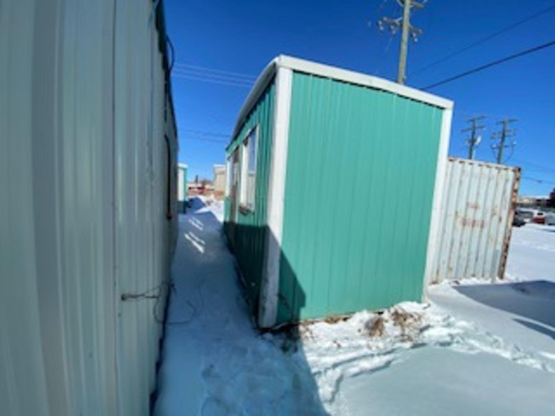 18FT X 8FT SHOP BUILT SKIDDED FIELD OFFICE BUILDING, N.V.S.N. GP - Image 2 of 4