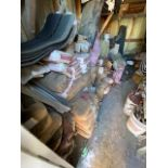 LARGE LOT OF CONCRETE ACCESSORIES - BALANCE OF SHED
