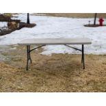 L/O 4 - 6FT RESIN FOLDING TABLES