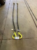 L/O 2-1/2IN GR 100 8FT LIFTING CHAINS, 15000LB