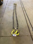 L/O 2-1/2IN GR100 8FT 10IN LIFTING CHAIN 15000LB