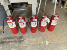 L/O 5-20LB FIRE EXTINGUISHERS